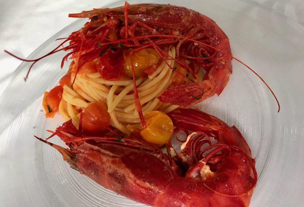 Made in Sud, Spaghetti con carabineros Marco
