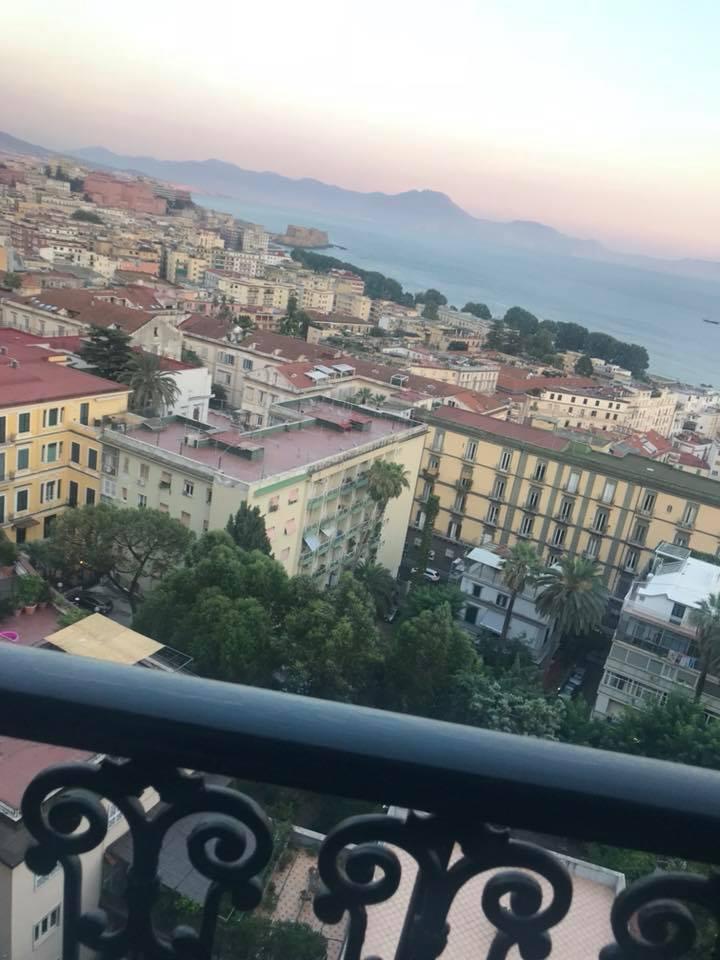 Napoli dalla Terrazza del George