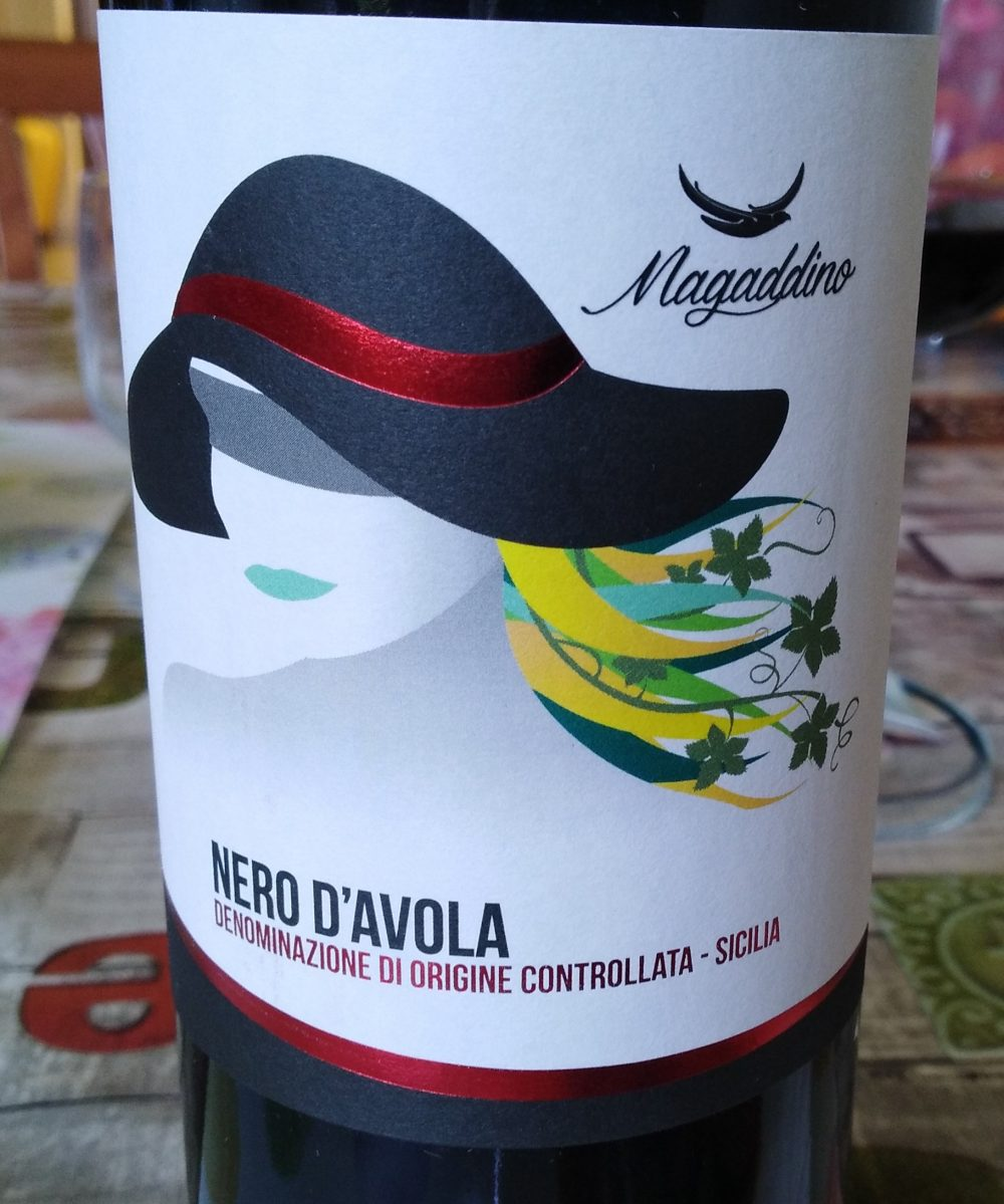 Nero d'Avola Sicilia Doc 2017 Magaddino