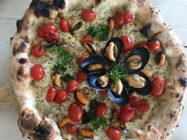 NonSoKe Pizza e Cucina - Pizza Cozze al vapore