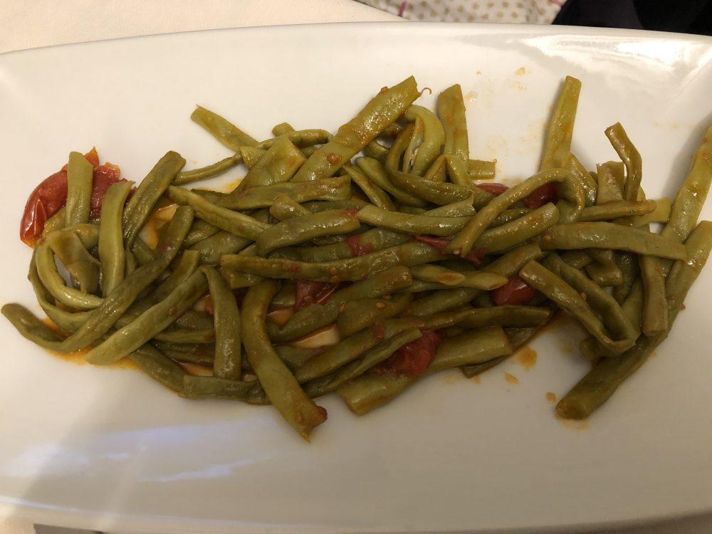Osteria Diabasis, Fagiolini