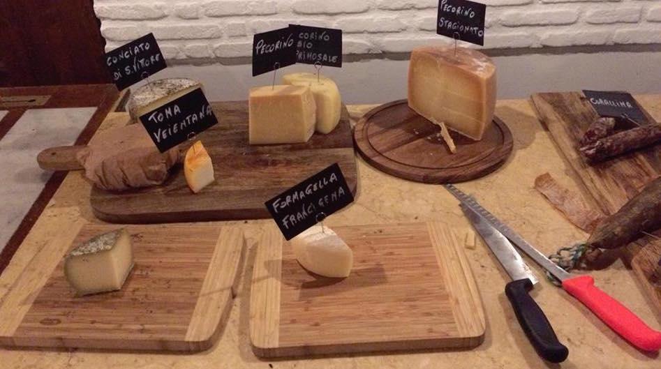 Osteria Fratelli Mori, i formaggi
