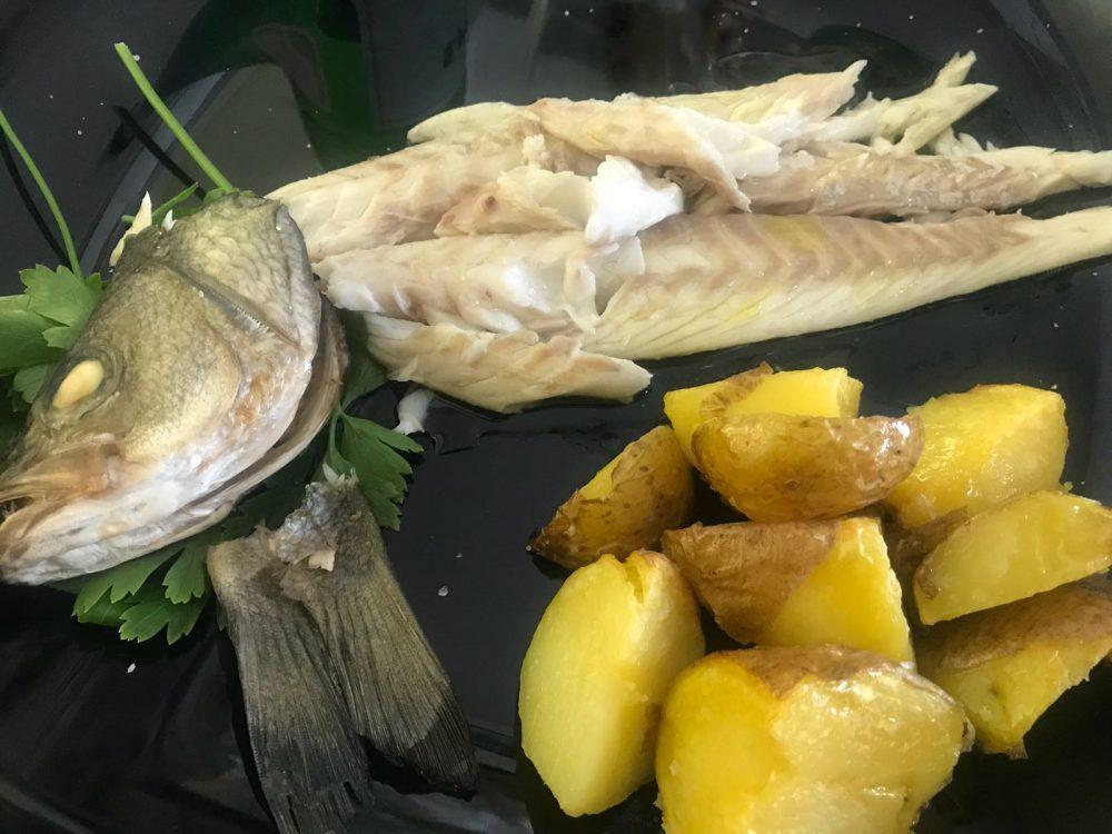 Osteria del Crudo - pesce al forno