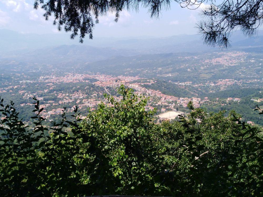 Panorama visto dal Rifugio Rosolea