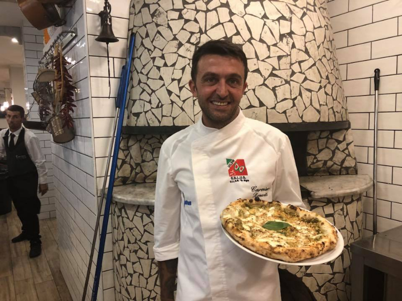 Pizza senza barriere - Carmine Donzetti