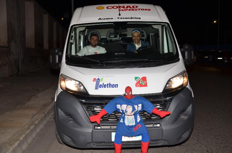 Pizza senza barriere - Il minibus