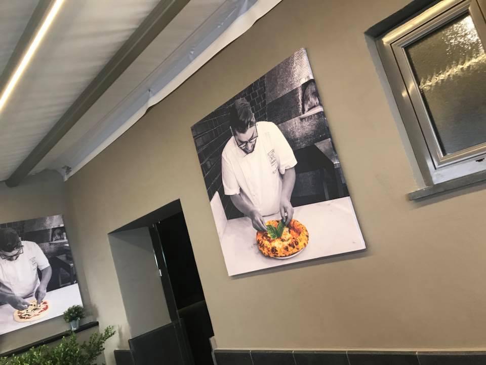 Pizzeria Carlo Sammarco 2.0, particolare della sala