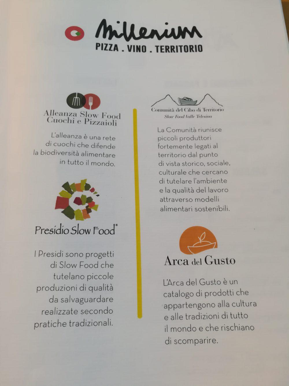 Pizzeria Millenium - I certificati di appartenenza