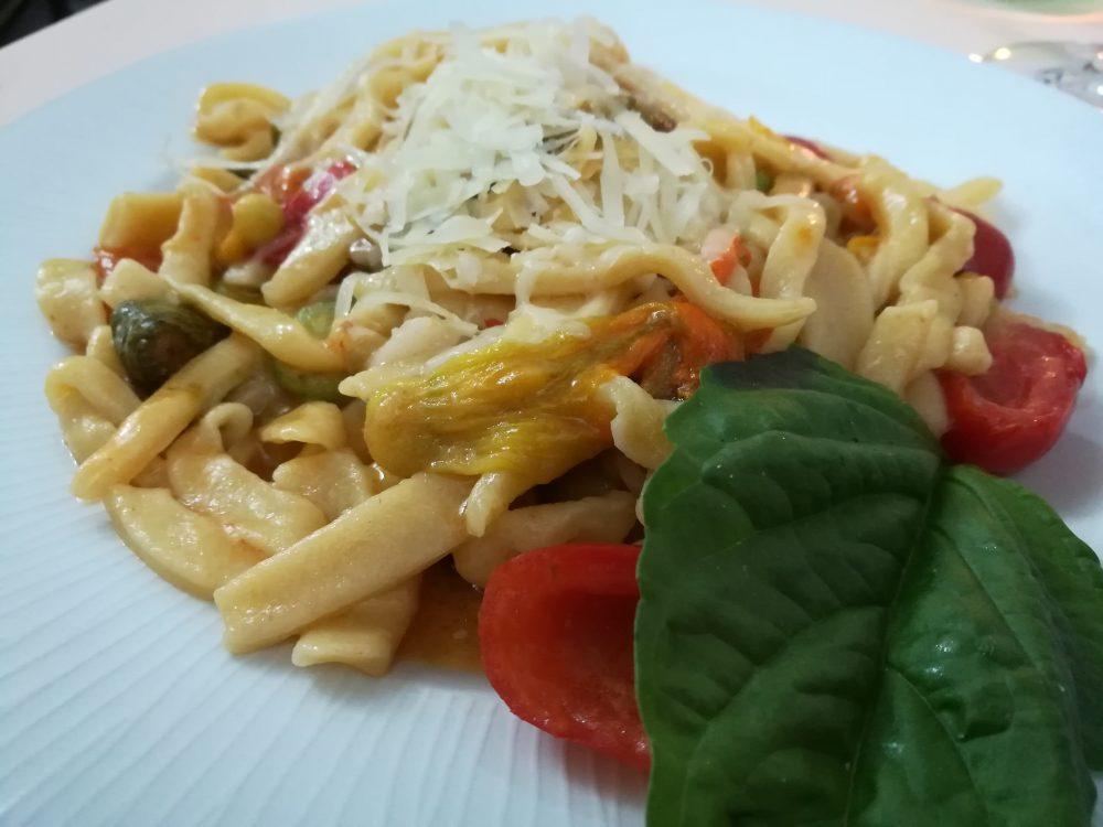 Sanneat - Wine & Food, Le Laine con Ciurilli,Zucchine e Lardo paesano