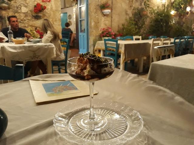 Taverna La Cialoma - Crema di ricotta al vino cotto