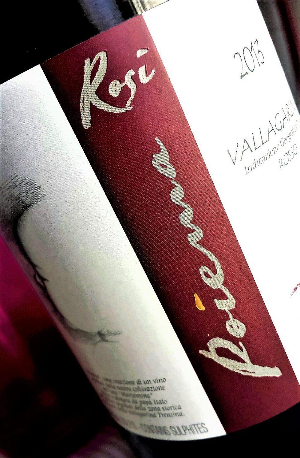 Vallagarina Rosso Poiema 2013, Eugenio Rosi