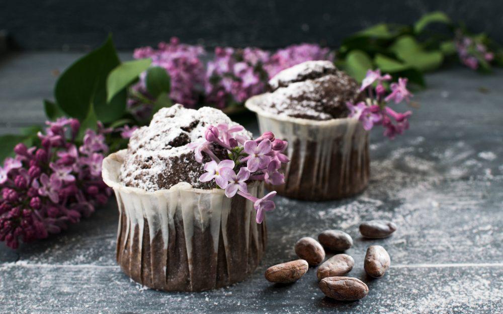 Muffin cacao e mango