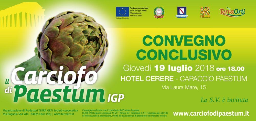 Il carciofo di Paestum igp - Convegno conclusivo