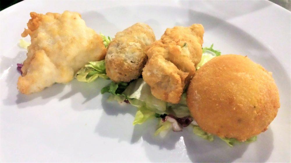 Battil'oro, Piccolo fritto partenopeo