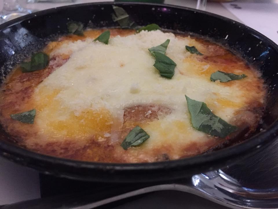 Suscettibile, Pizza e Cucina, la parmigiana
