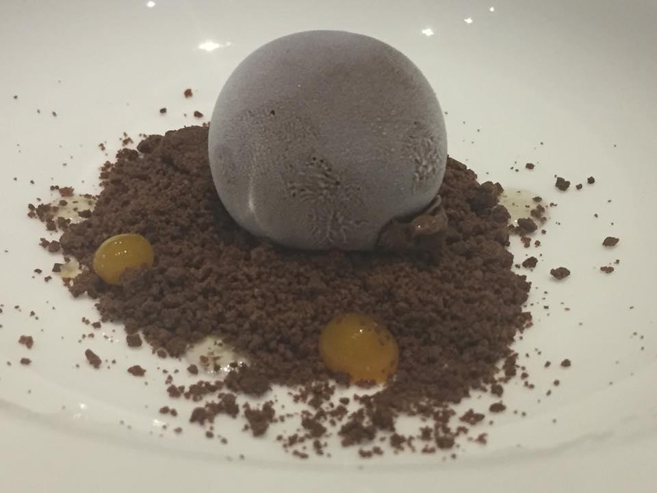 Annali', pre dessert al cacao ghiacciato