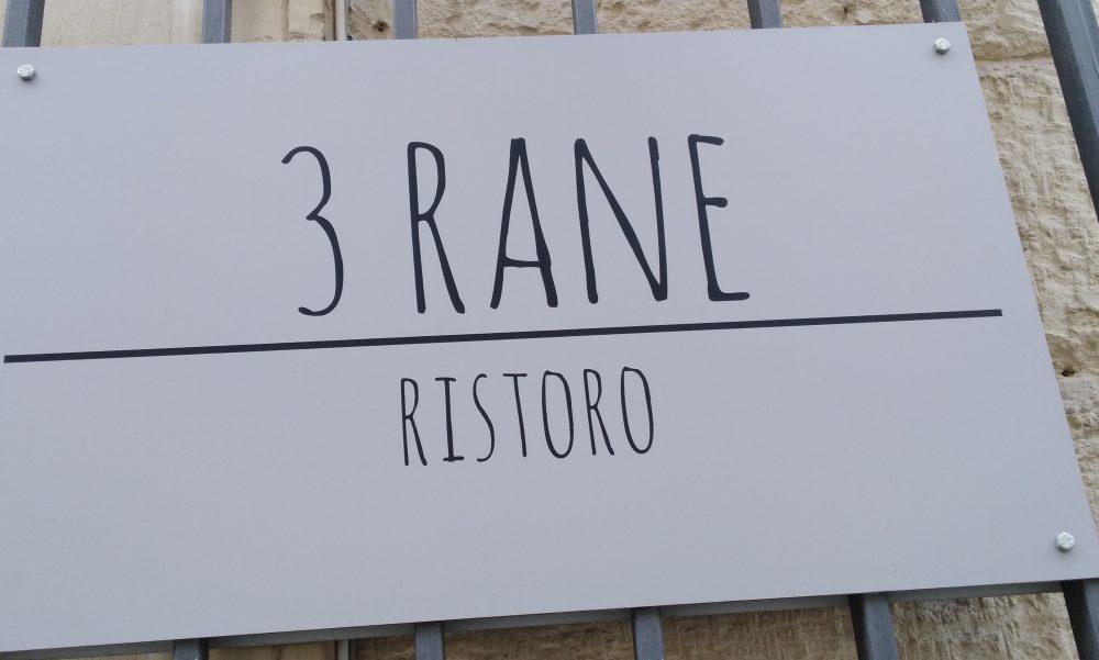 3 Rane Ristoro - Ingresso