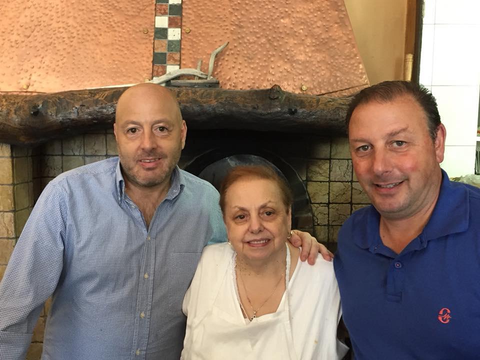 Alle Sorgenti del Calore, Rosetta con i figli Carmelo e Antonio