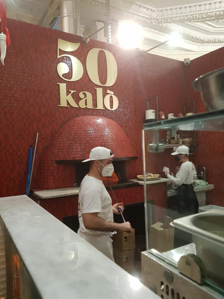 50 Kalo' Londra, il forno