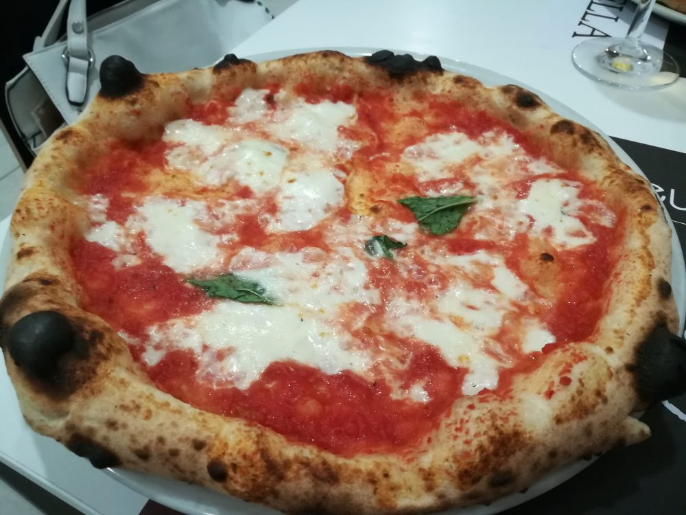 Pizzeria Cirasella, pizza
