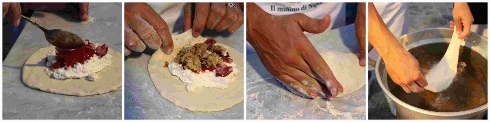 Castello Ducale – Gino Sorbillo preparazione pizza fritta