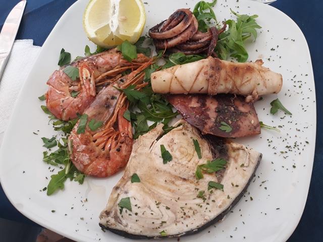 Cu Mangia Fa Muddrichi - Tris di pesce alla griglia