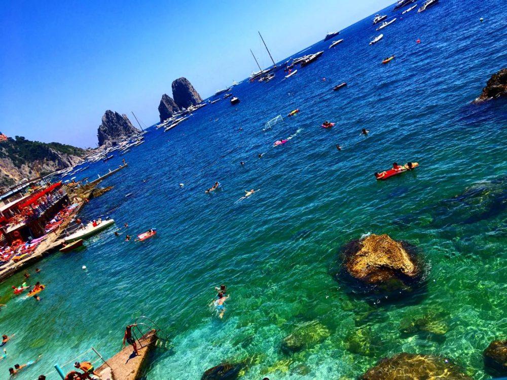Ciro a Mare - Bagni Internazionali Capri a Marina Piccola