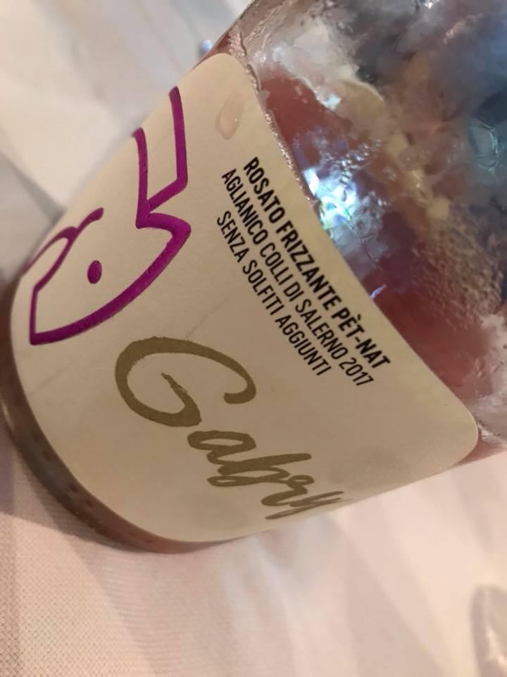 Gabry rosato frizzante Vitivoltori Lenza
