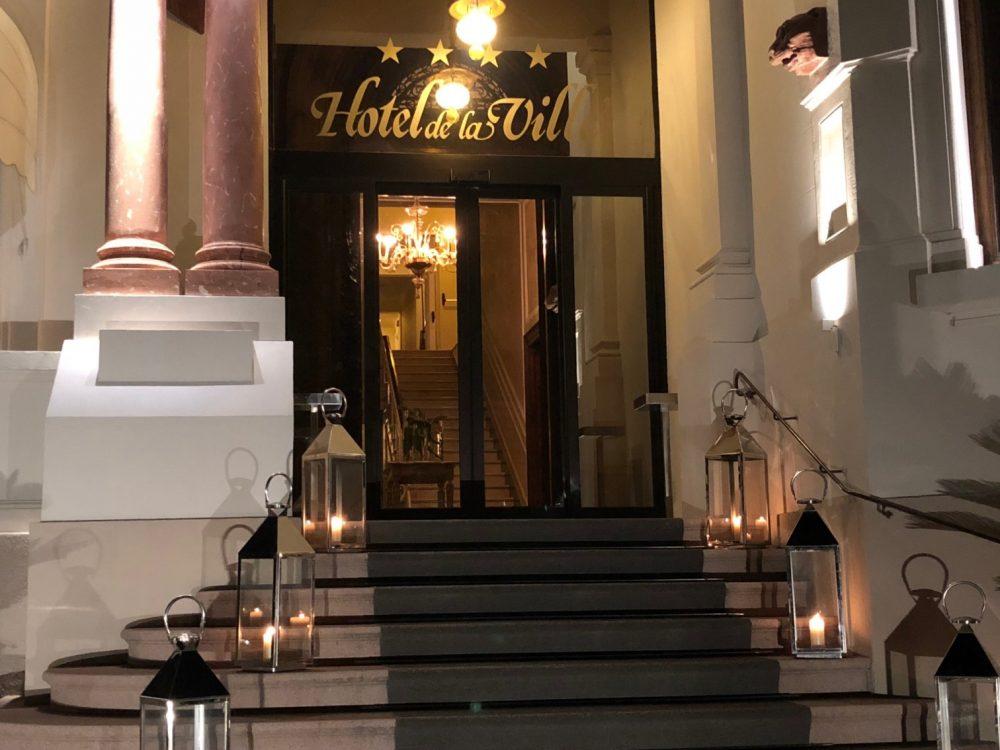 Hotel De La Ville, Riccione, l'ingresso