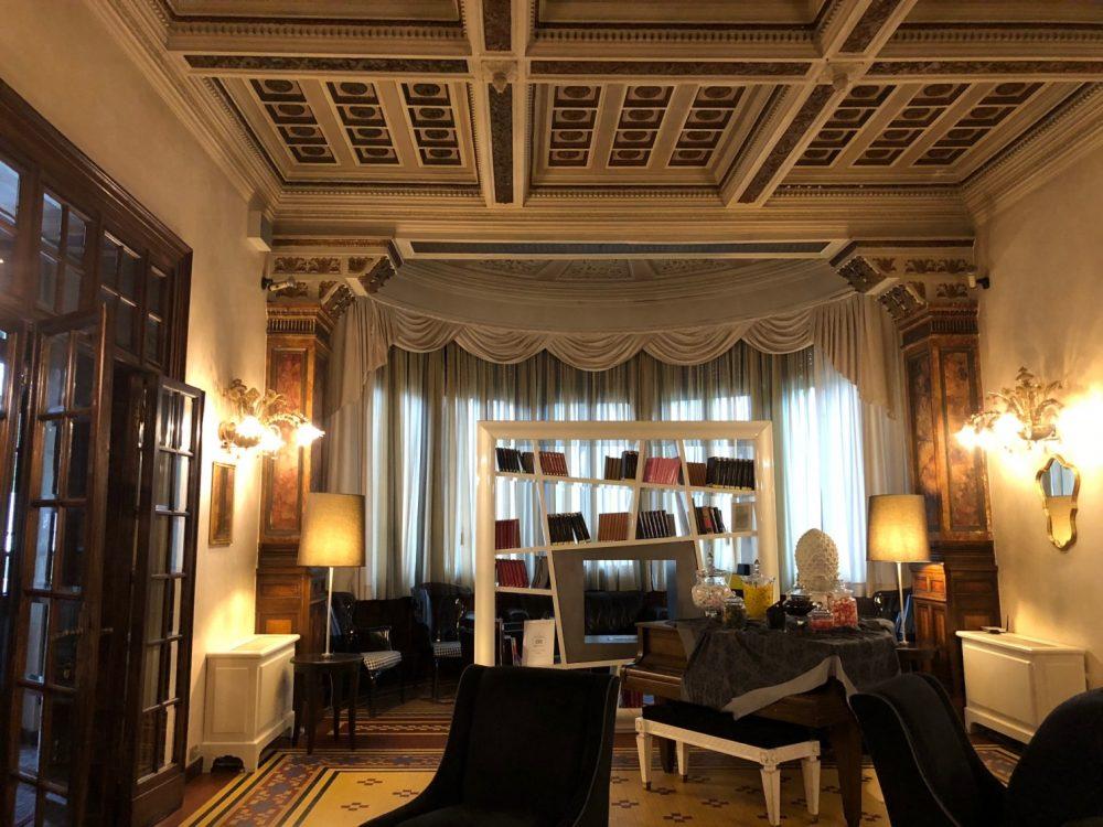 Hotel De La Ville, Riccione, una delle sale