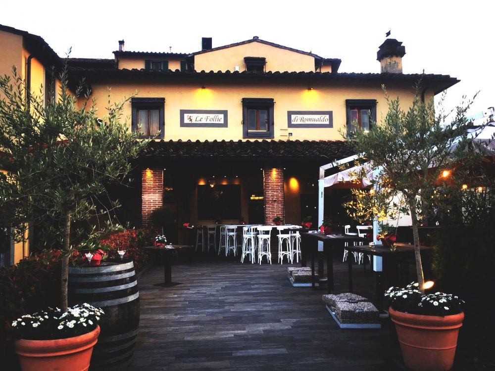 Le follie di Romualdo, Firenze