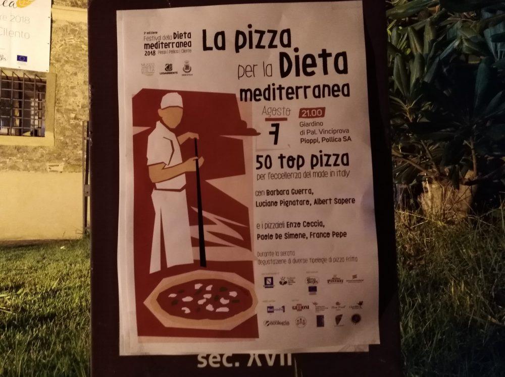 Locandina Top Pizza 50 a Pioppi