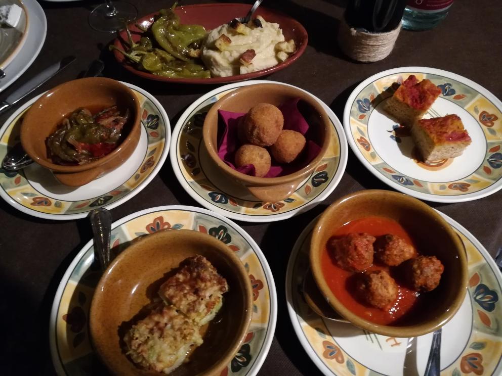 Masseria Torricella - Gli Antipasti caldi