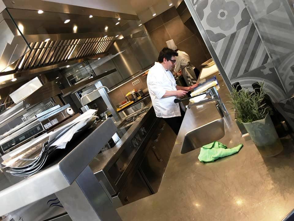 Pierfranco Ferrara nel suo Tempio di cucina