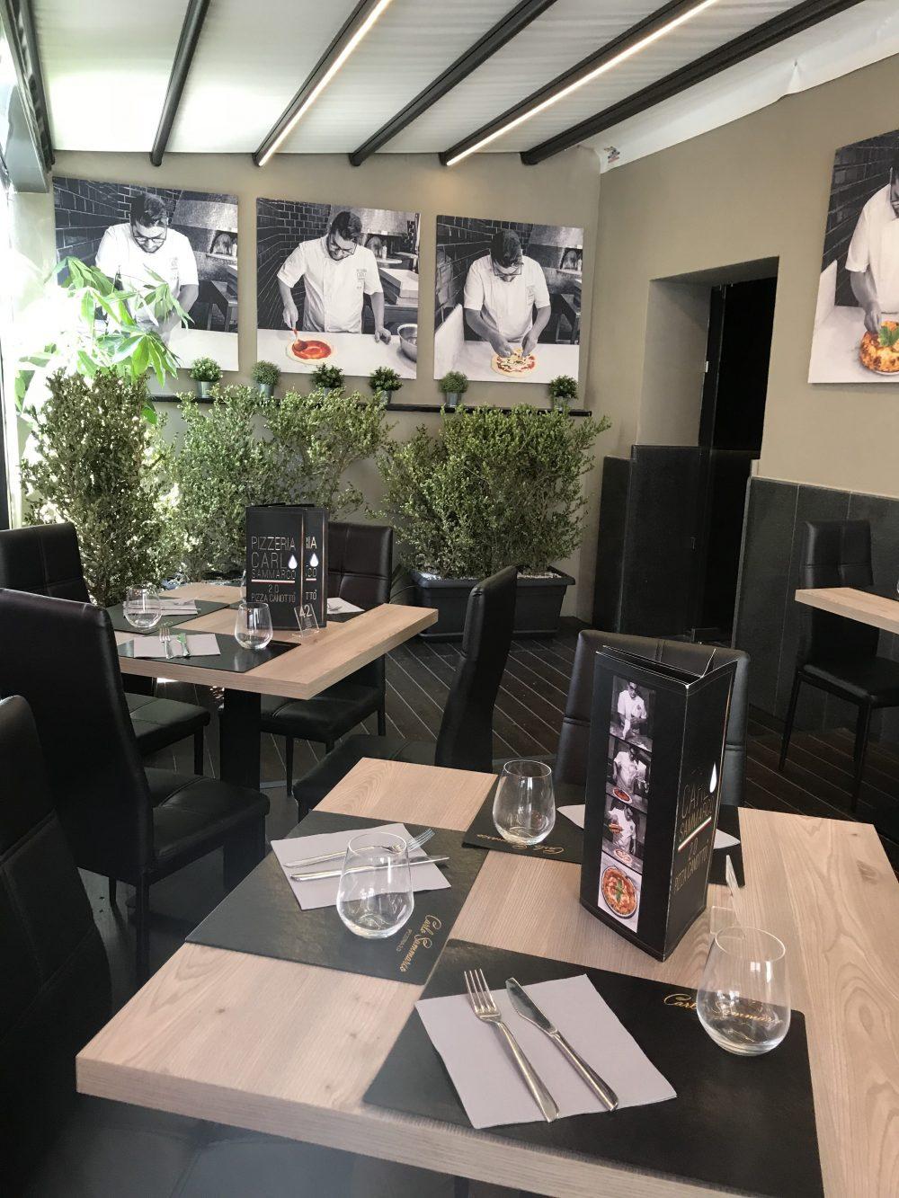 Pizzeria Carlo Sammarco 2.0 - Sala con giardino