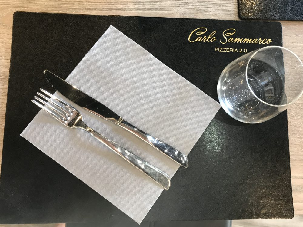 Pizzeria Carlo Sammarco 2.0 - mise en place