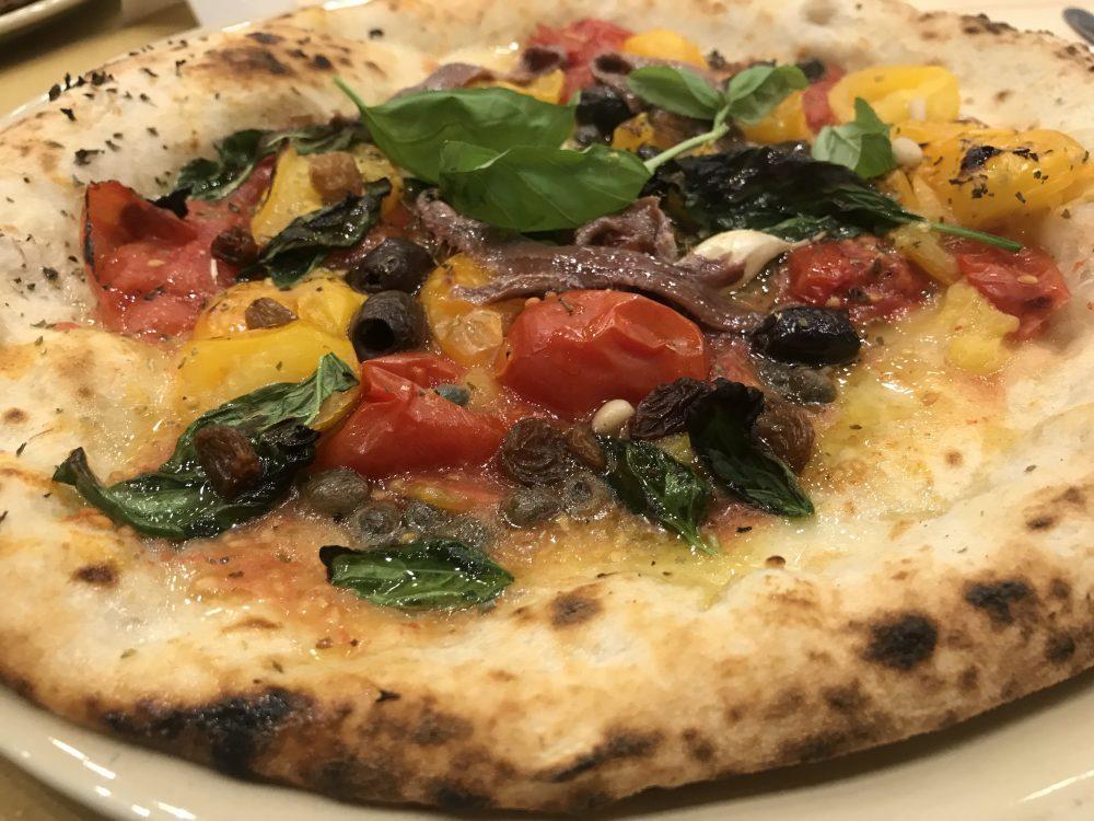 Pizzeria Doro Gourmet - Pizza Margherita dell' Alleanza