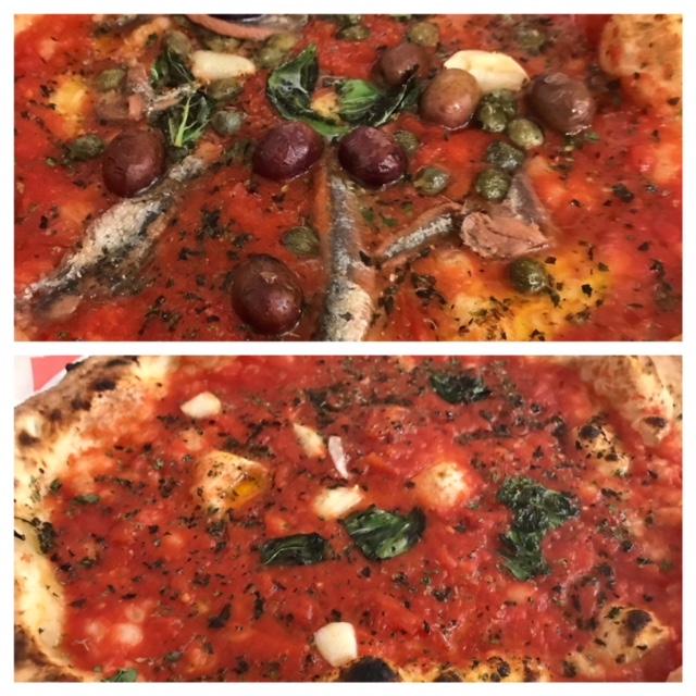Pizzeria La Loggetta - Pizza Marinara e Pizza Napoletana