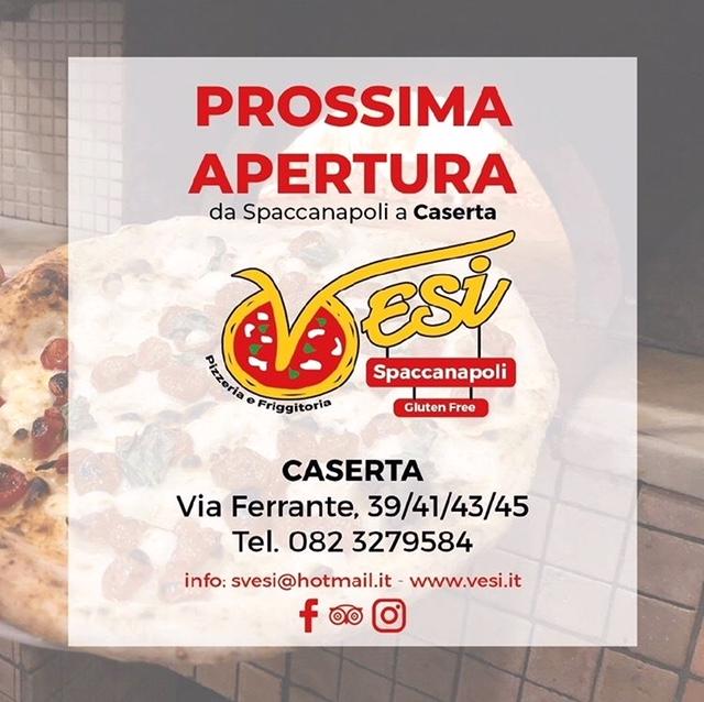 Pizzeria Vesi - Apertura