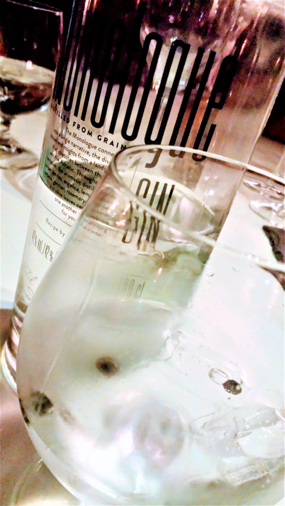 Pri Lojzetu, Gin Monologue