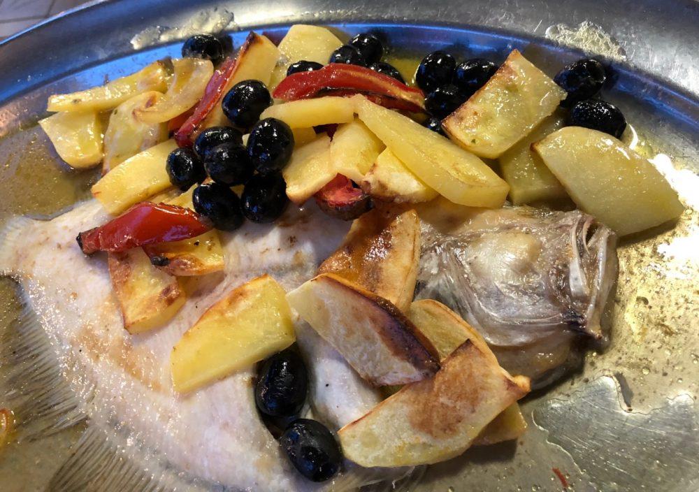 Massimo dei Mille - Soaso al forno con patate