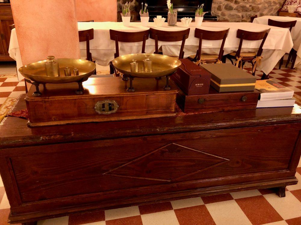 Trattoria Visconti, dettagli