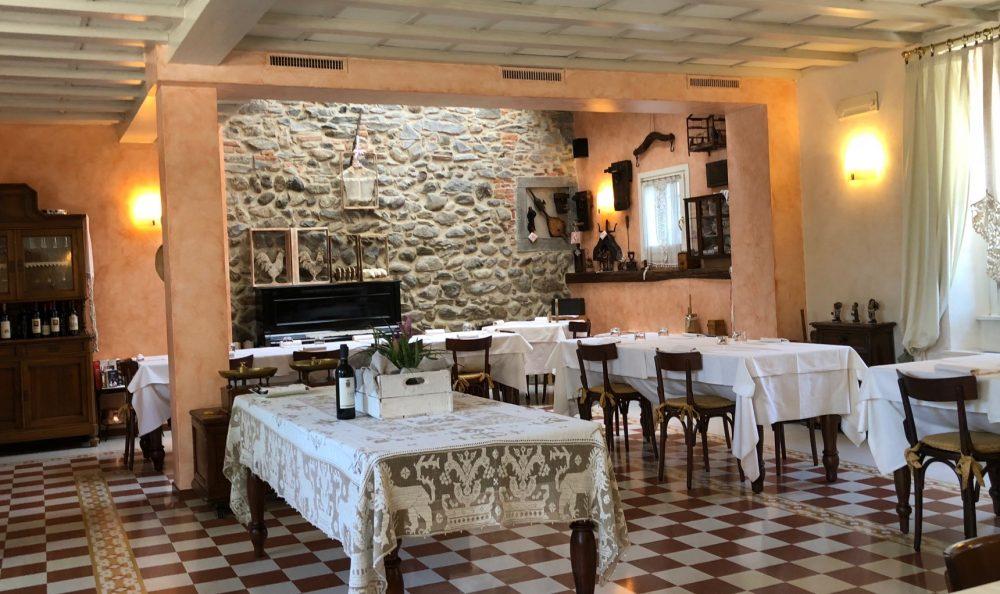 Trattoria Visconti, la sala