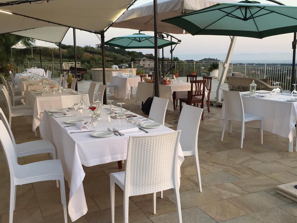 Villa Marchesa, la terrazza panoramica