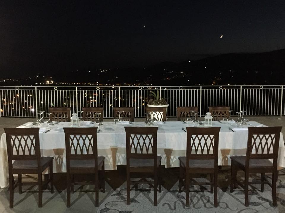 Villa Marchesa, tavolo panoramico