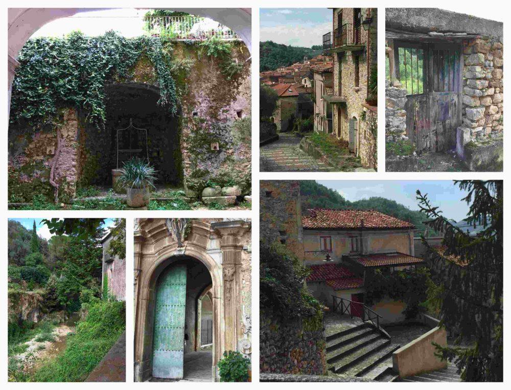Piaggine, scorci del centro storico