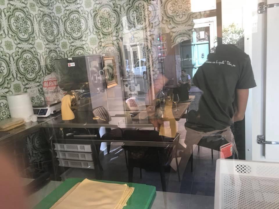 Da Luciano Cucina Italiana, il minipastificio