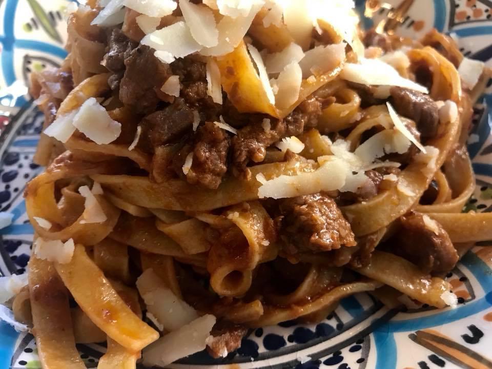 Da Luciano Cucina Italiana,tagliatlelle al ragu'