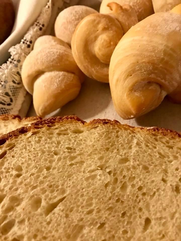 Dimora Nannina di Gianpaolo Zoccola, il pane bianco