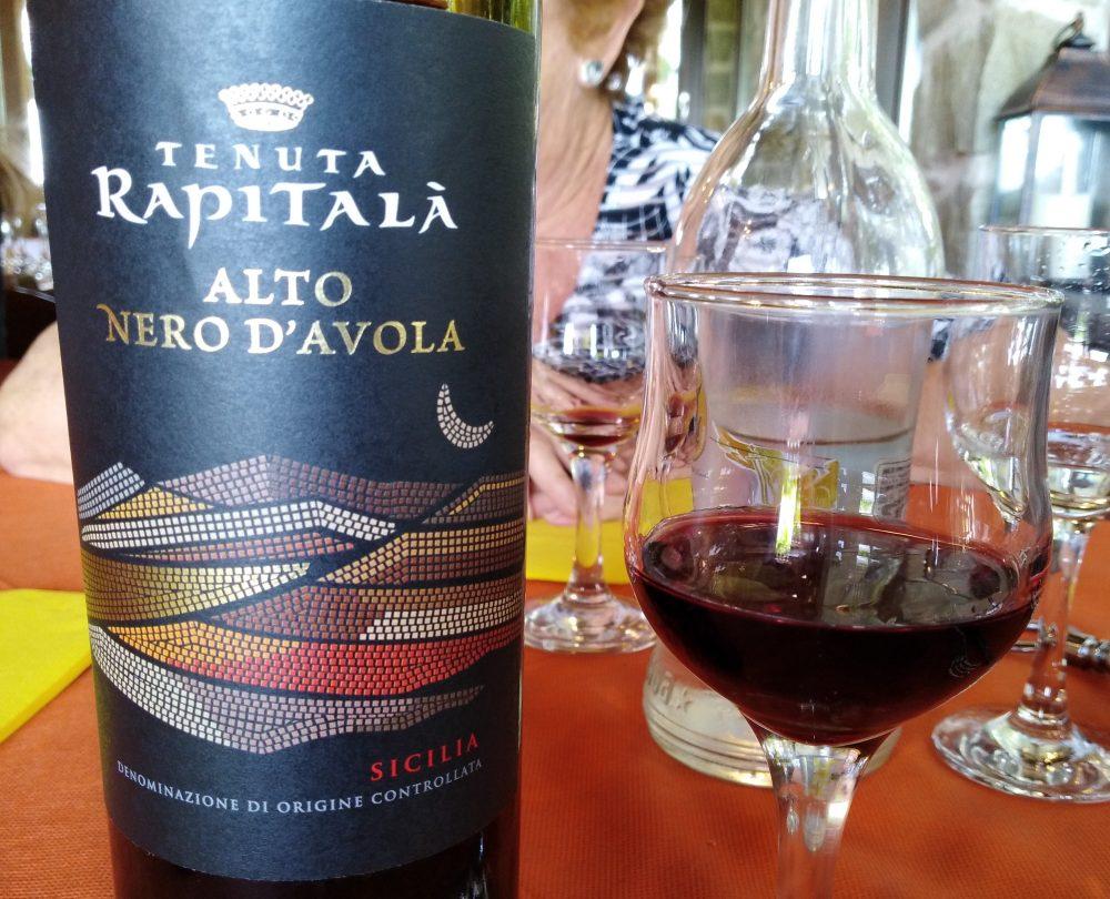 Alto Nero d'Avola Sicilia Doc 2015 Tenuta Rapitala'